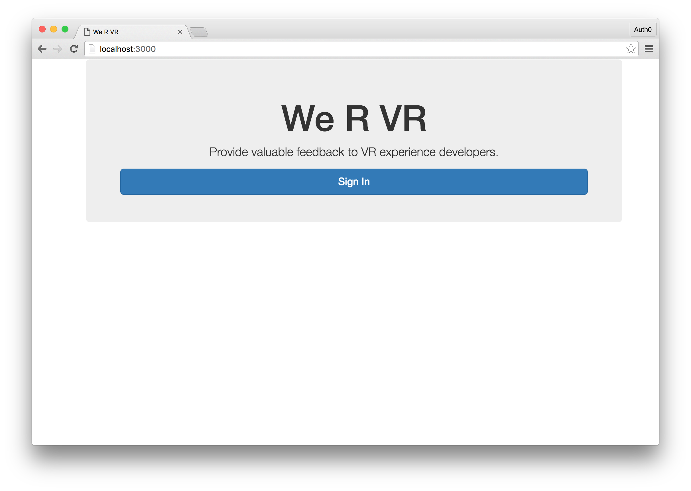 Authentication in golang with jwts dzone integration we r vr login page malvernweather Images