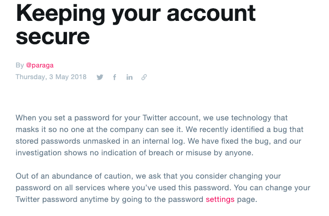 Twitter Data Breach