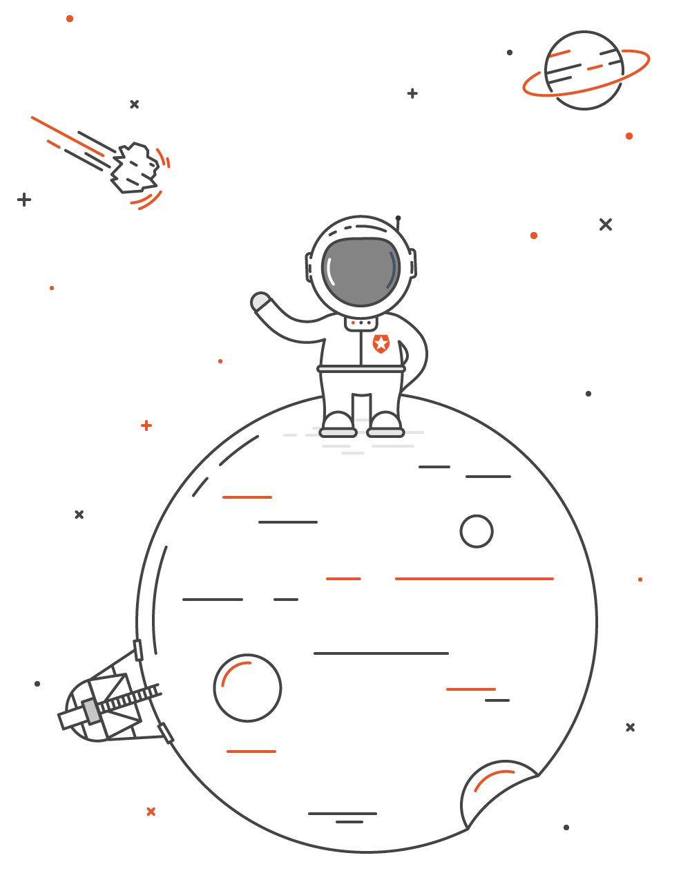 Auth0 Ambassador Program astronaut icon
