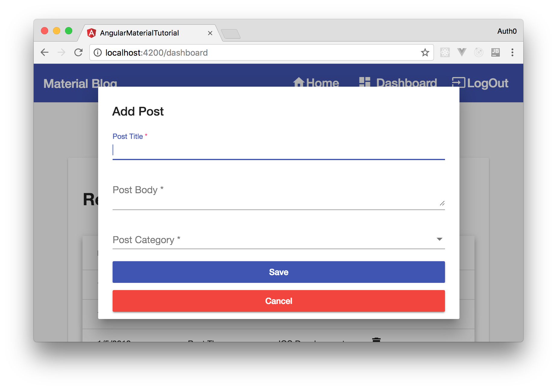 Creating Beautiful Apps with Angular Material