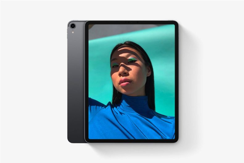 iPad Pro with Face ID Feature