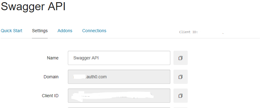 Getting our Auth0 credentials