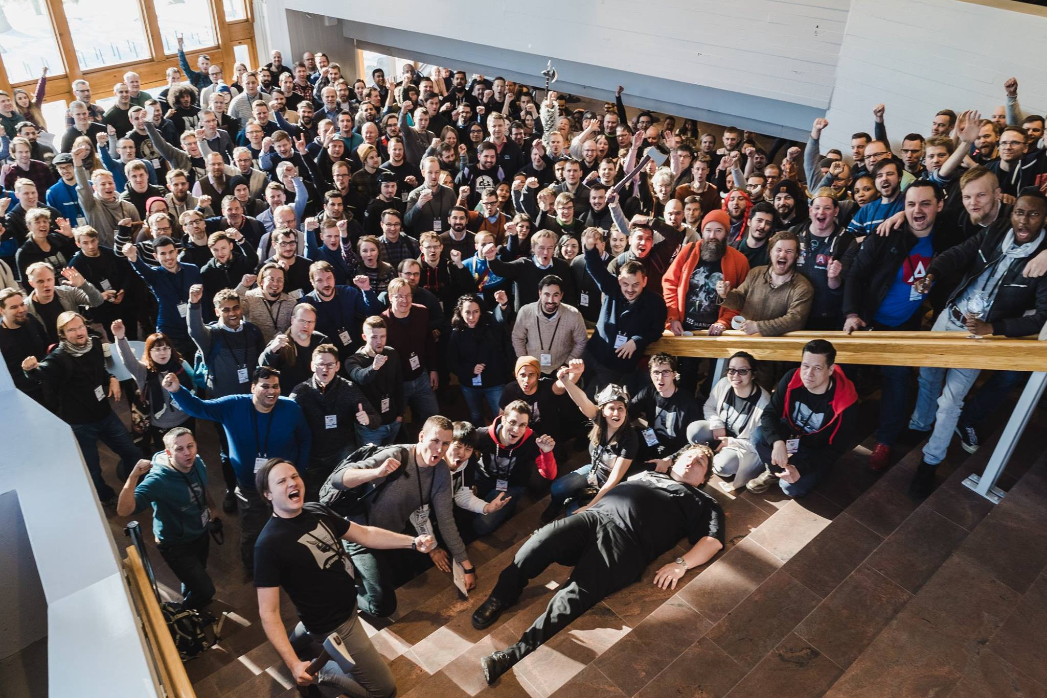 Over 300 developers attended ngVikings