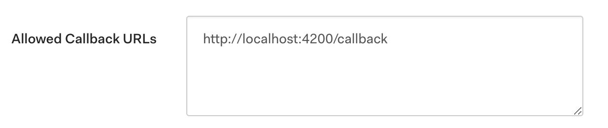 Allowed Callback URLs