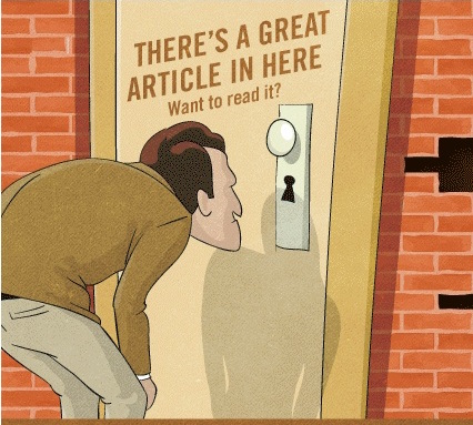 Protecting content with a paywall