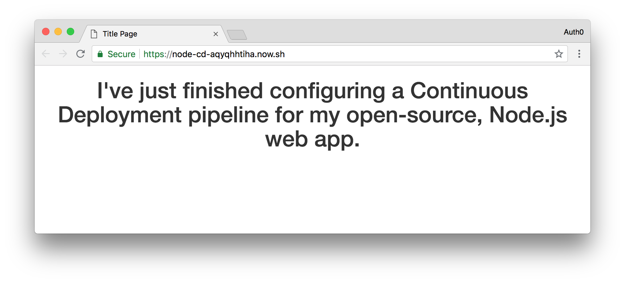 The second deployment of the open-source web app