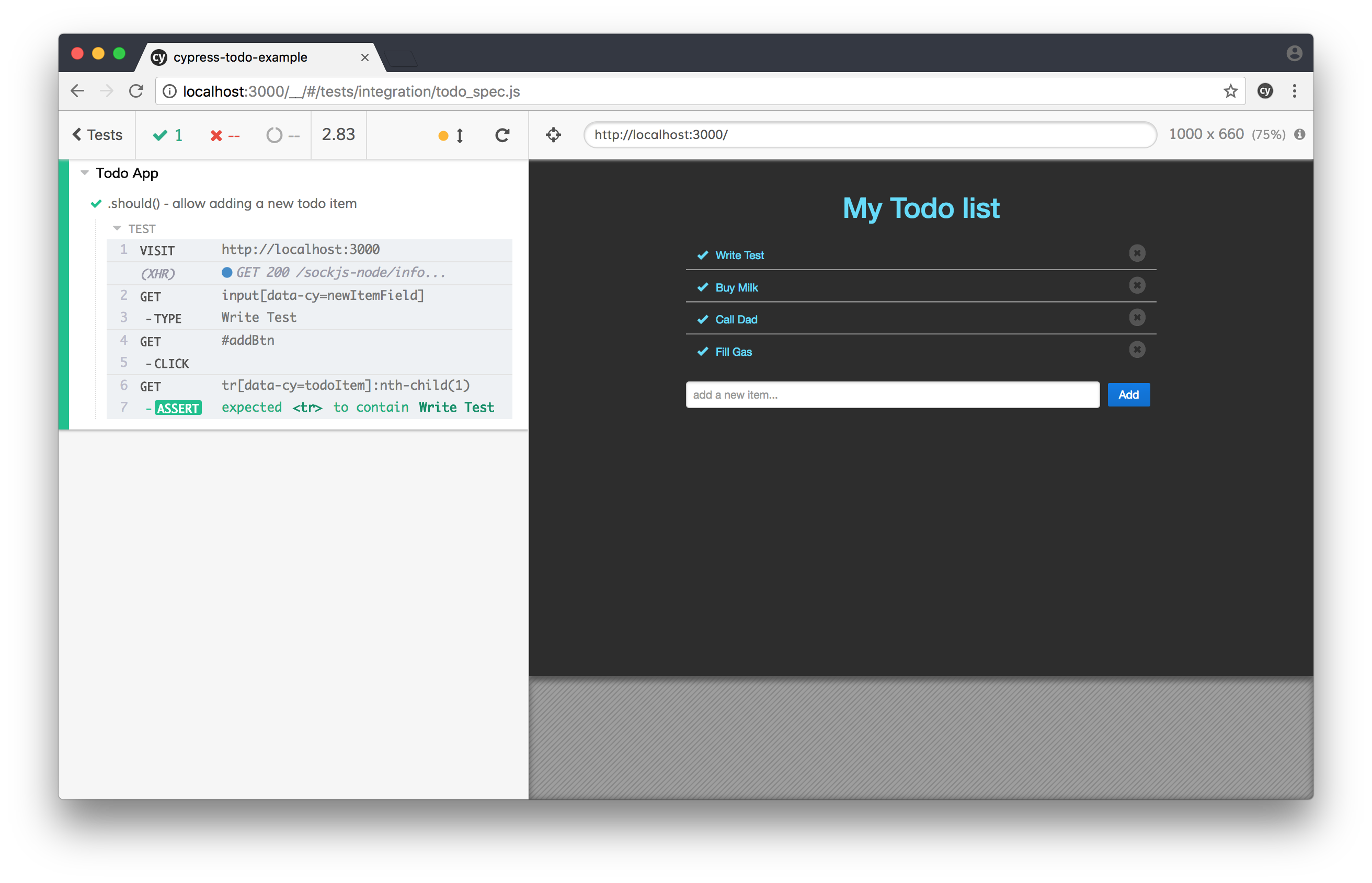 Cypress: Write Automated Tests to Validate Web Applications