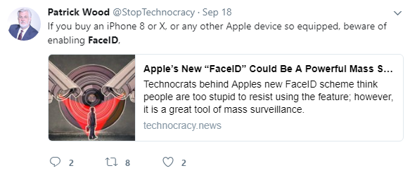 FaceID tool of mass surveillance