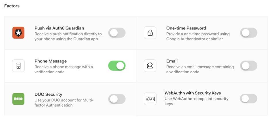 Multi-Factor Authentication 1