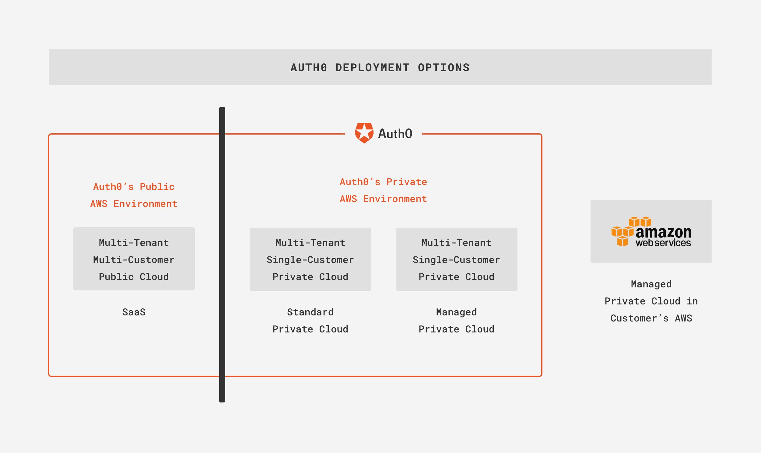 Deployment Options Diagram