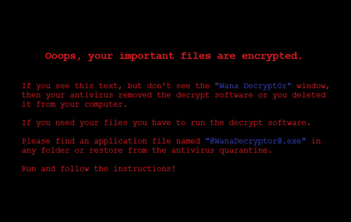WannaCry encryption