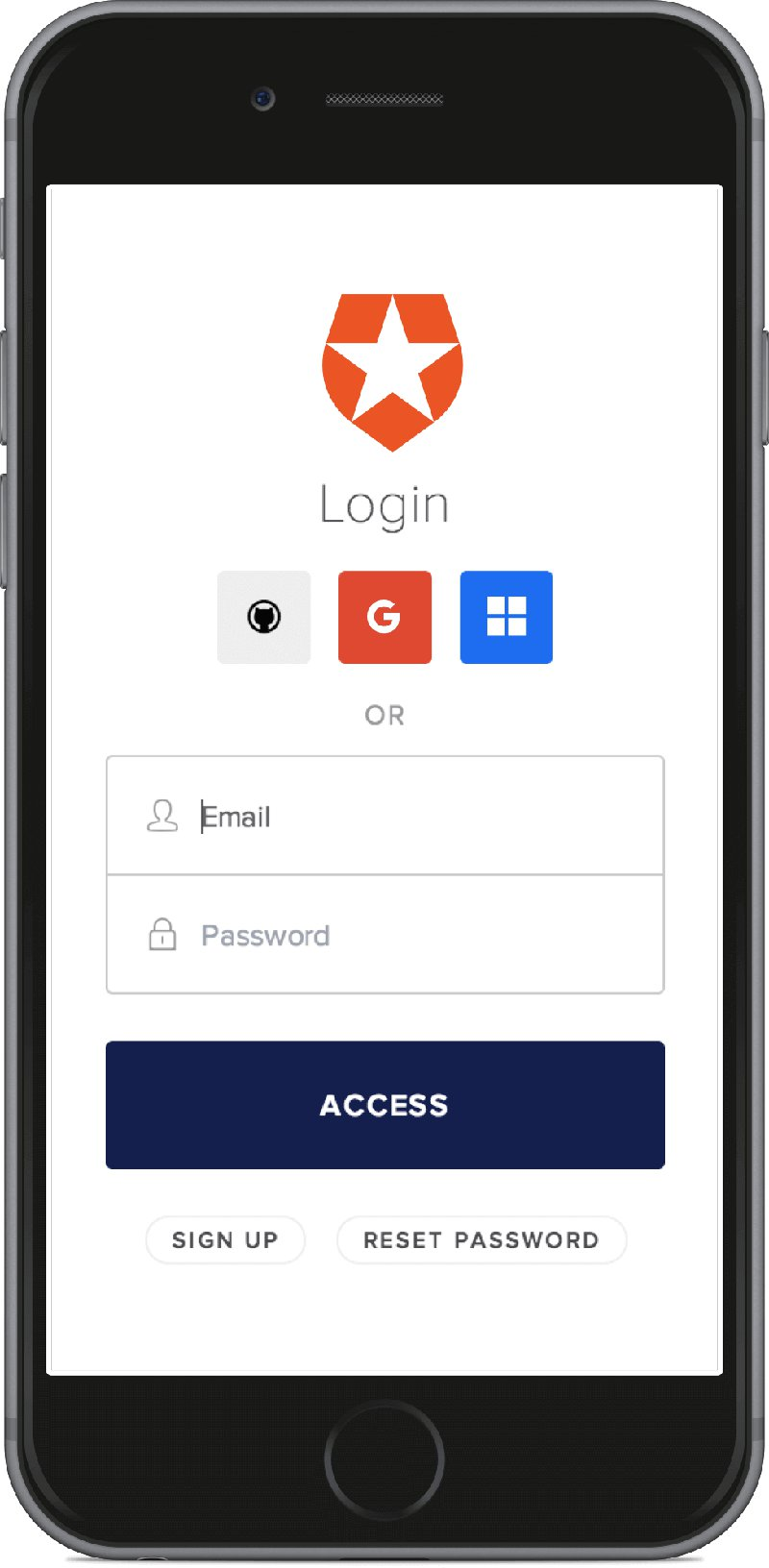 Social login with Auth0