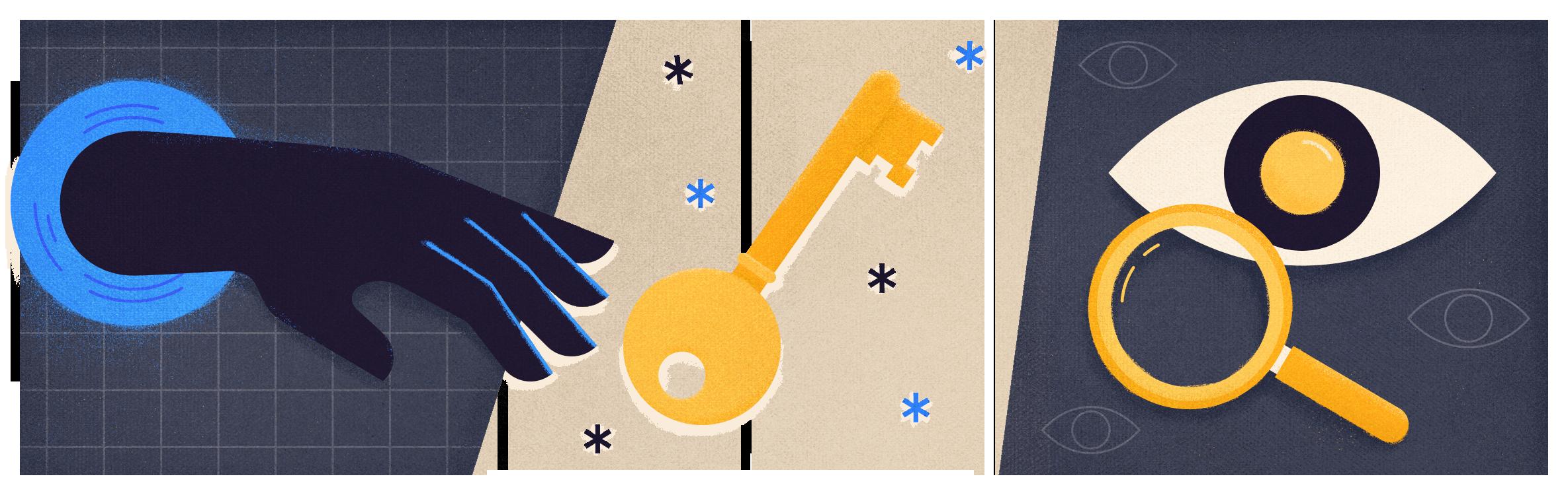 Illustration of data privacy separator 01