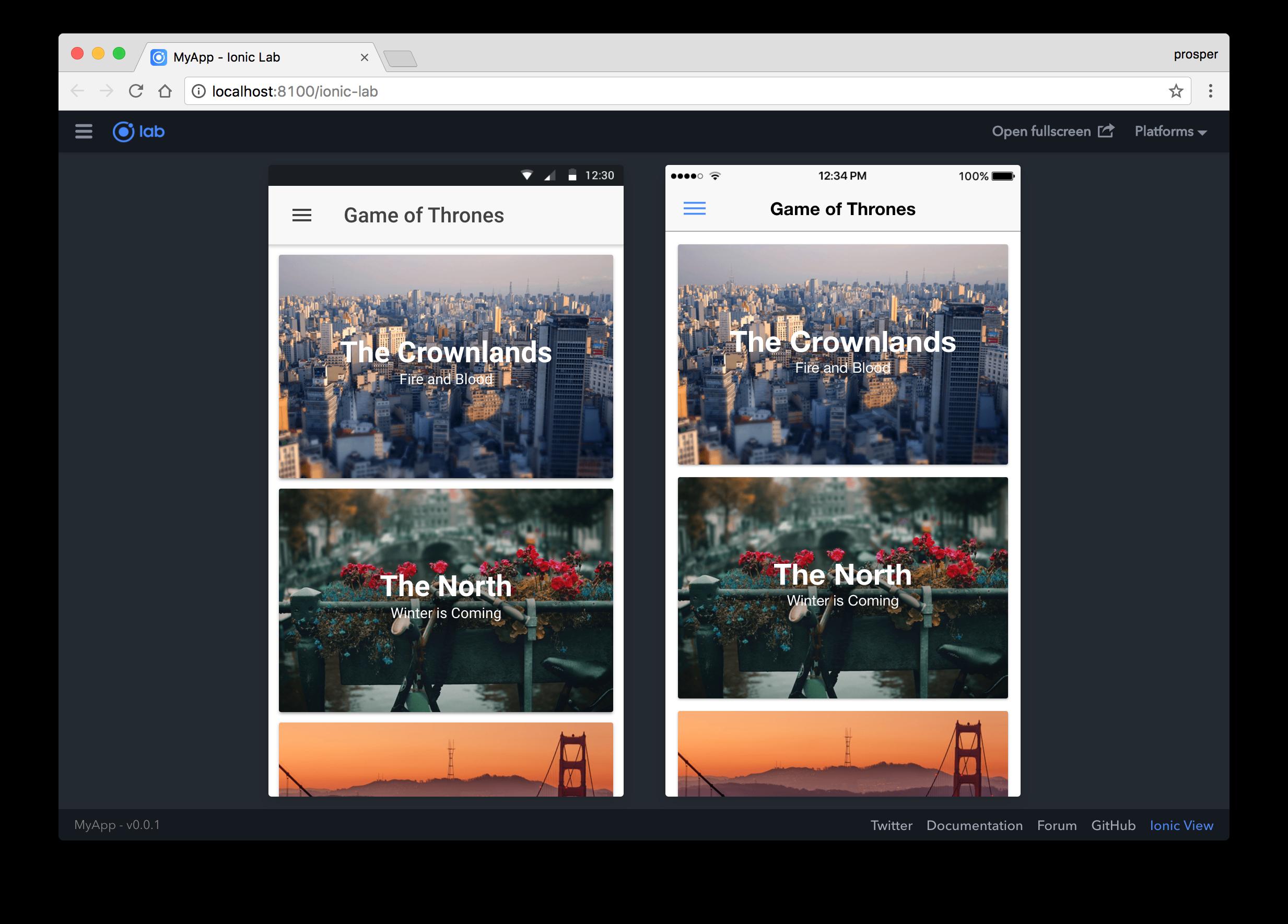 Ionic Framework: Getting Started - DZone Mobile