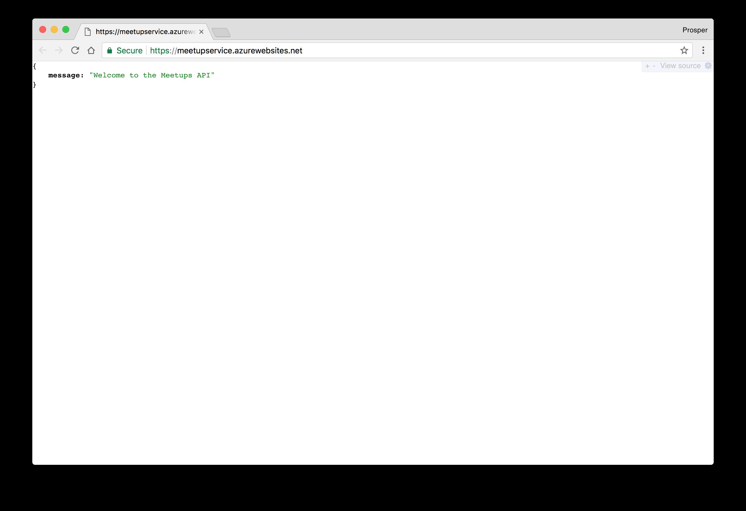 JavaScript Deploy - Microsoft Azure