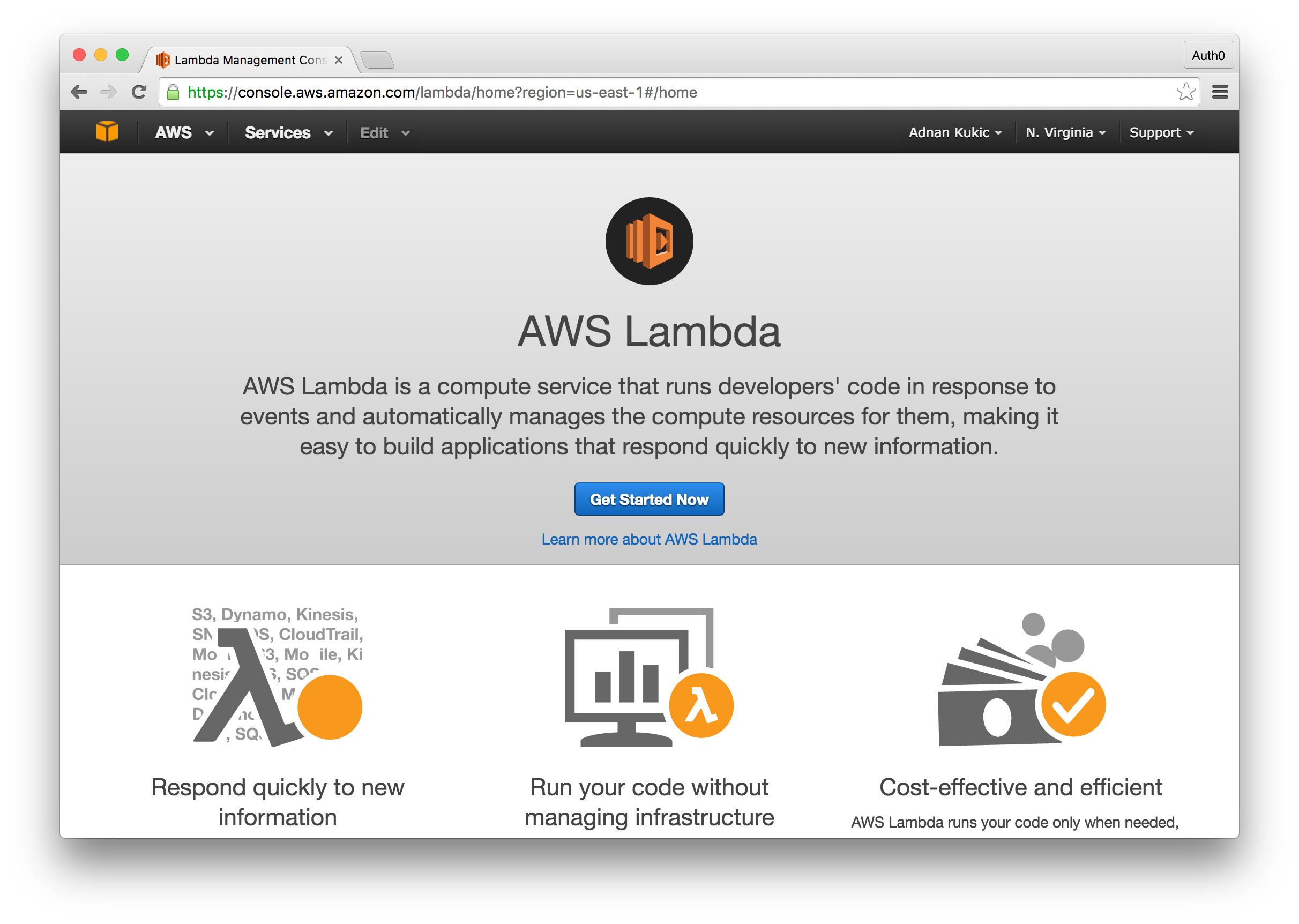 Building Serverless Apps with AWS Lambda