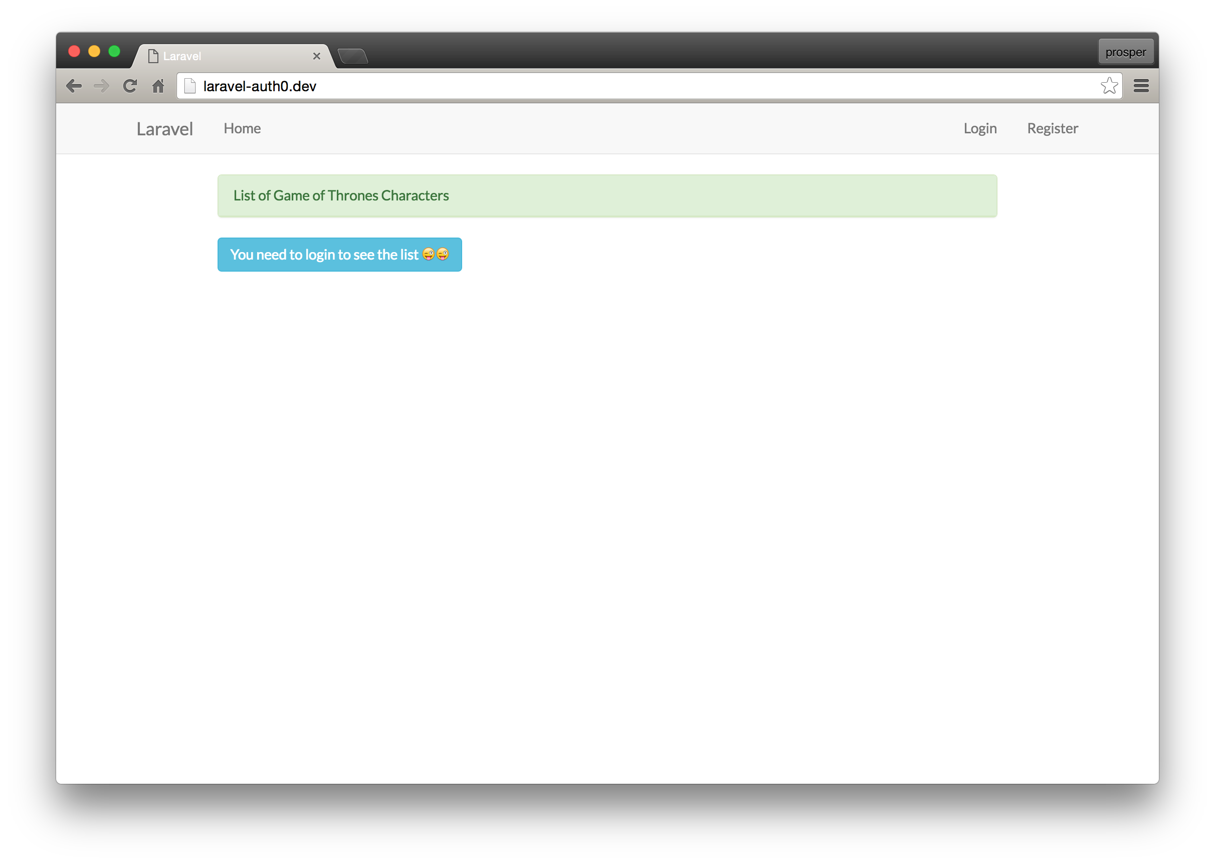 Create Your First Laravel App and Add Authentication - DZone