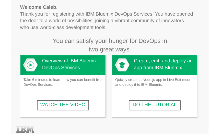 BlueMix Next Steps