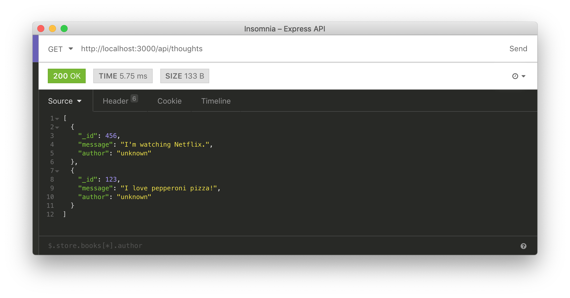 Issuing HTTP requests to custom Next.js server.