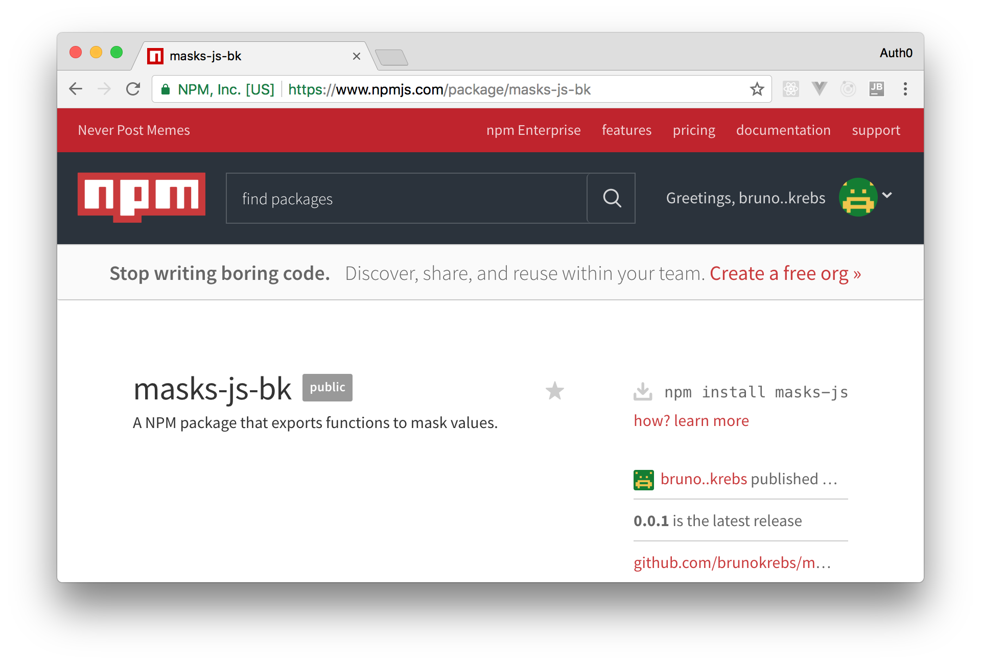 Learn How to Develop and Publish an NPM Package