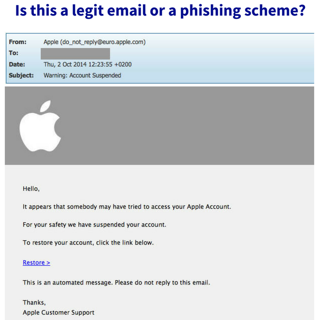 Legit or phishing scheme email?