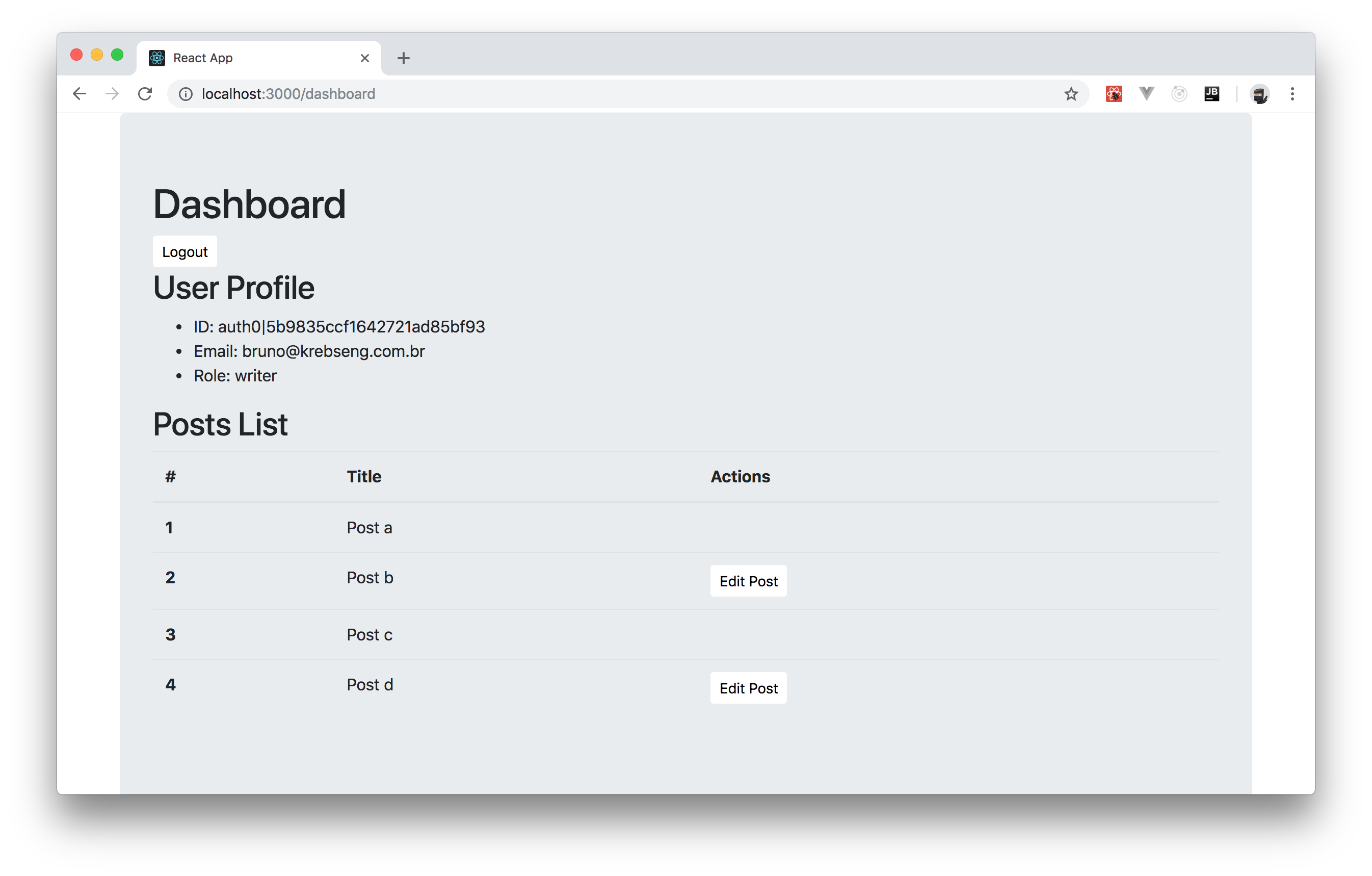 How to Add Role-Based Access Control (RBAC) to React Apps