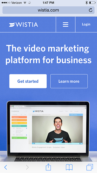 wistia desktop registration process