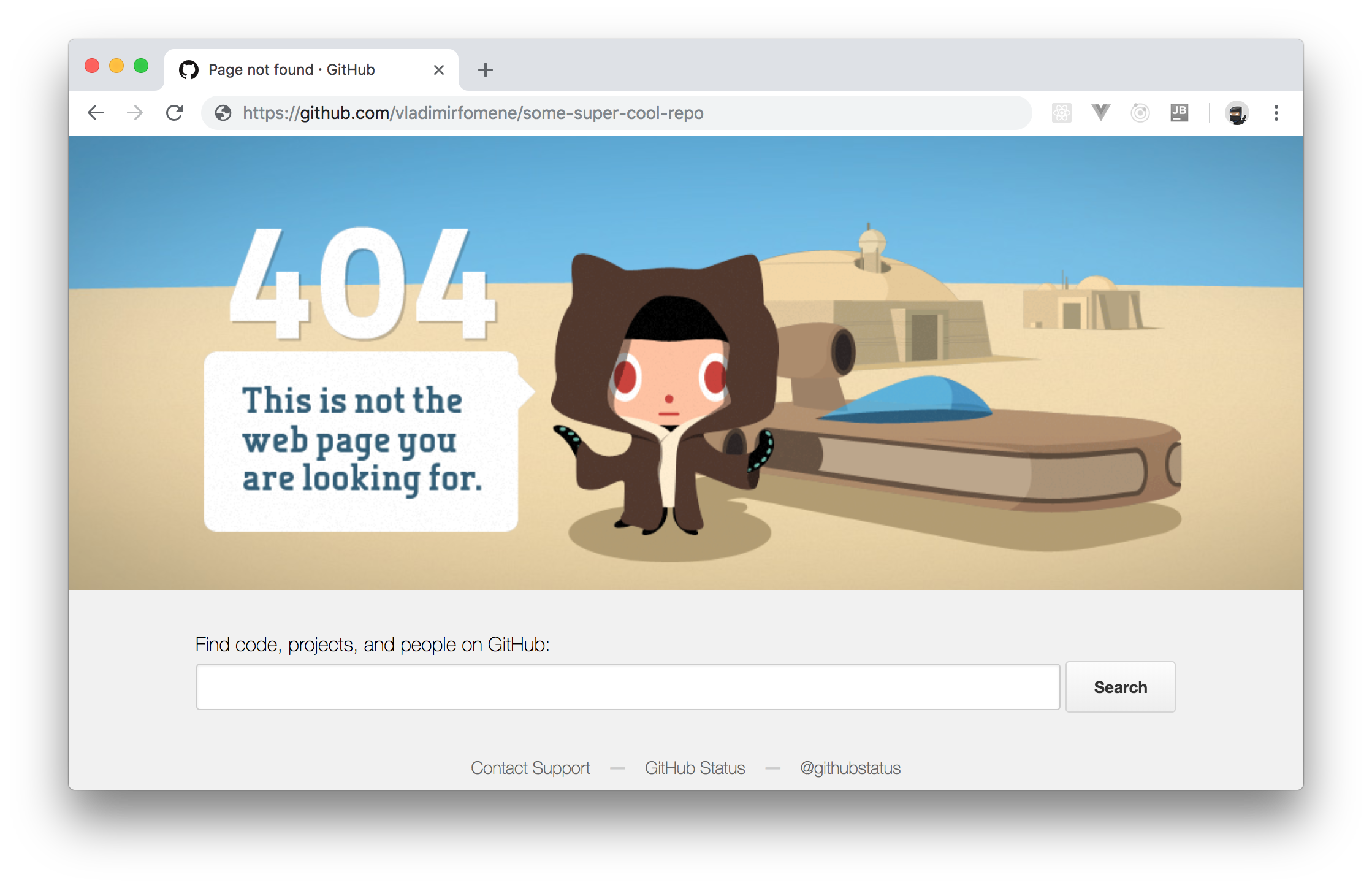 GitHub repo deleted through a Retrofit client