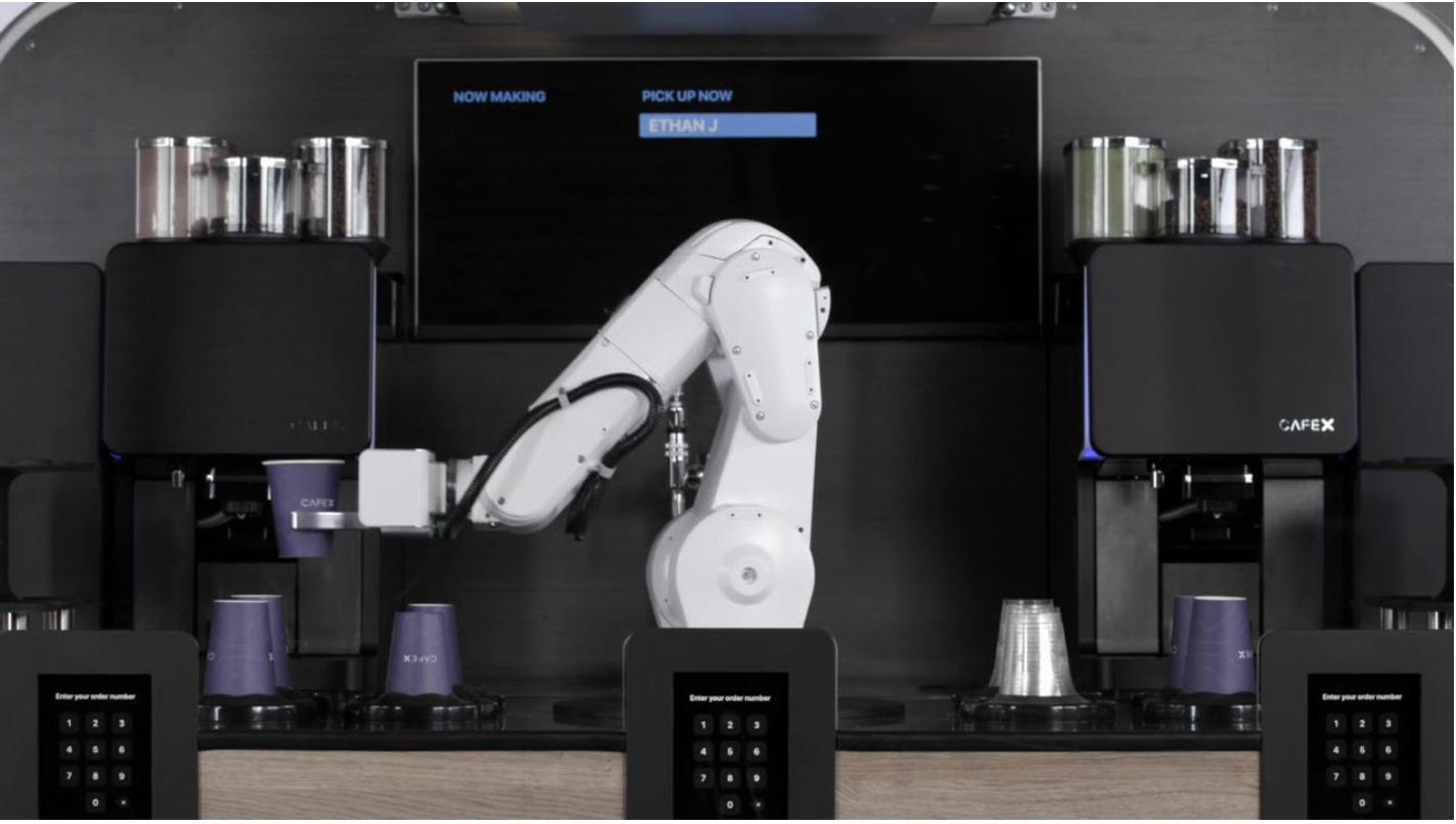 Robot Barista CafeX