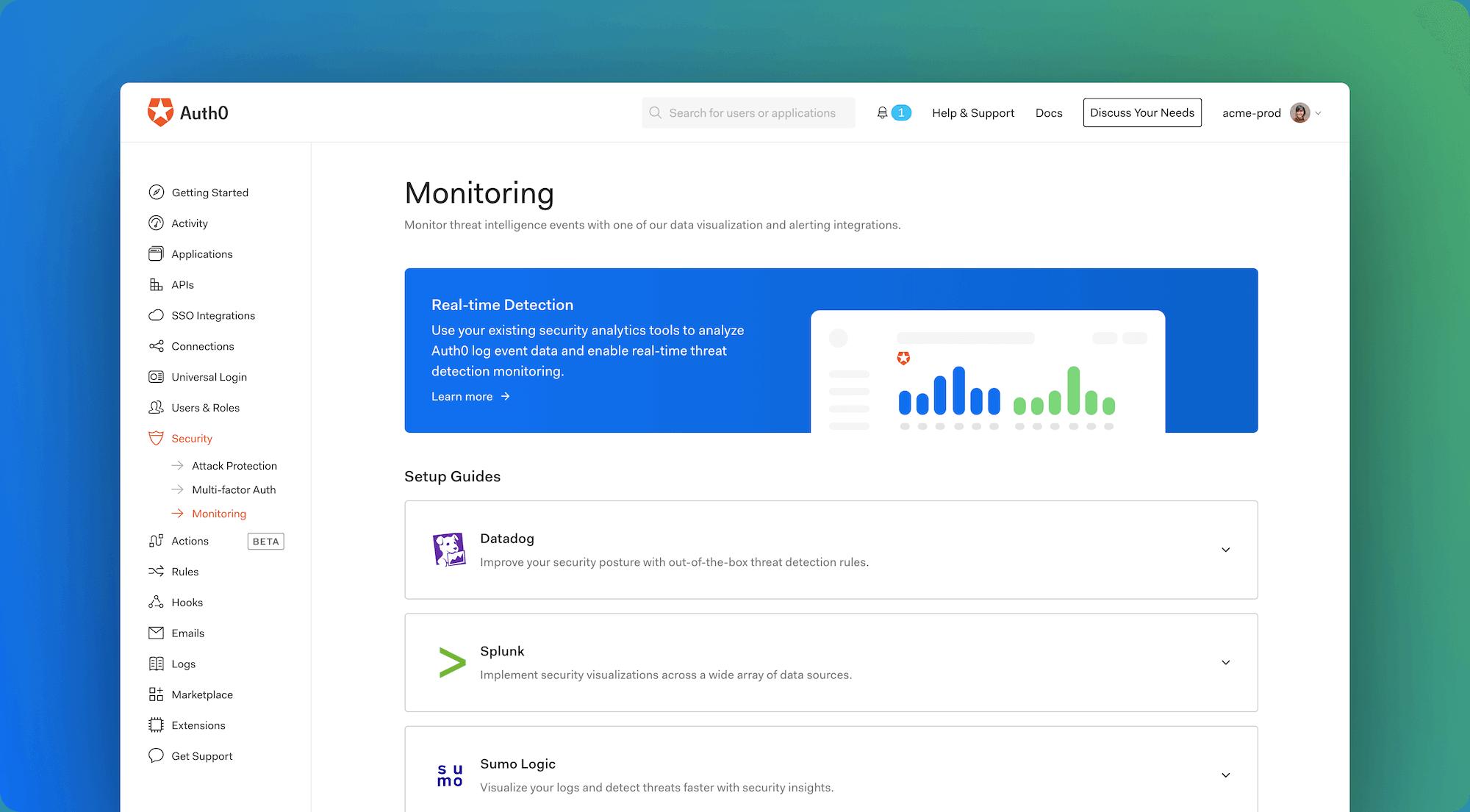 Monitoring Guides