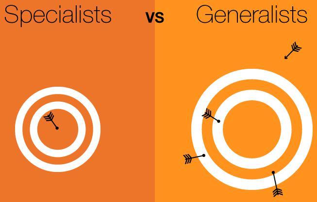 Specialists vs Generalists