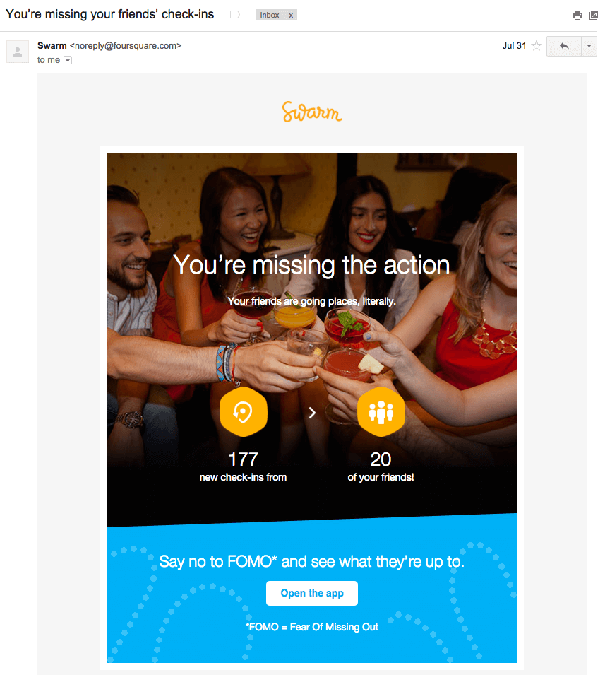 Swarm Email