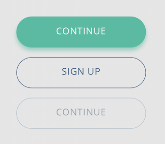 Styling UI buttons - Primary, secondary, tertiary - Active and Disabled state buttons