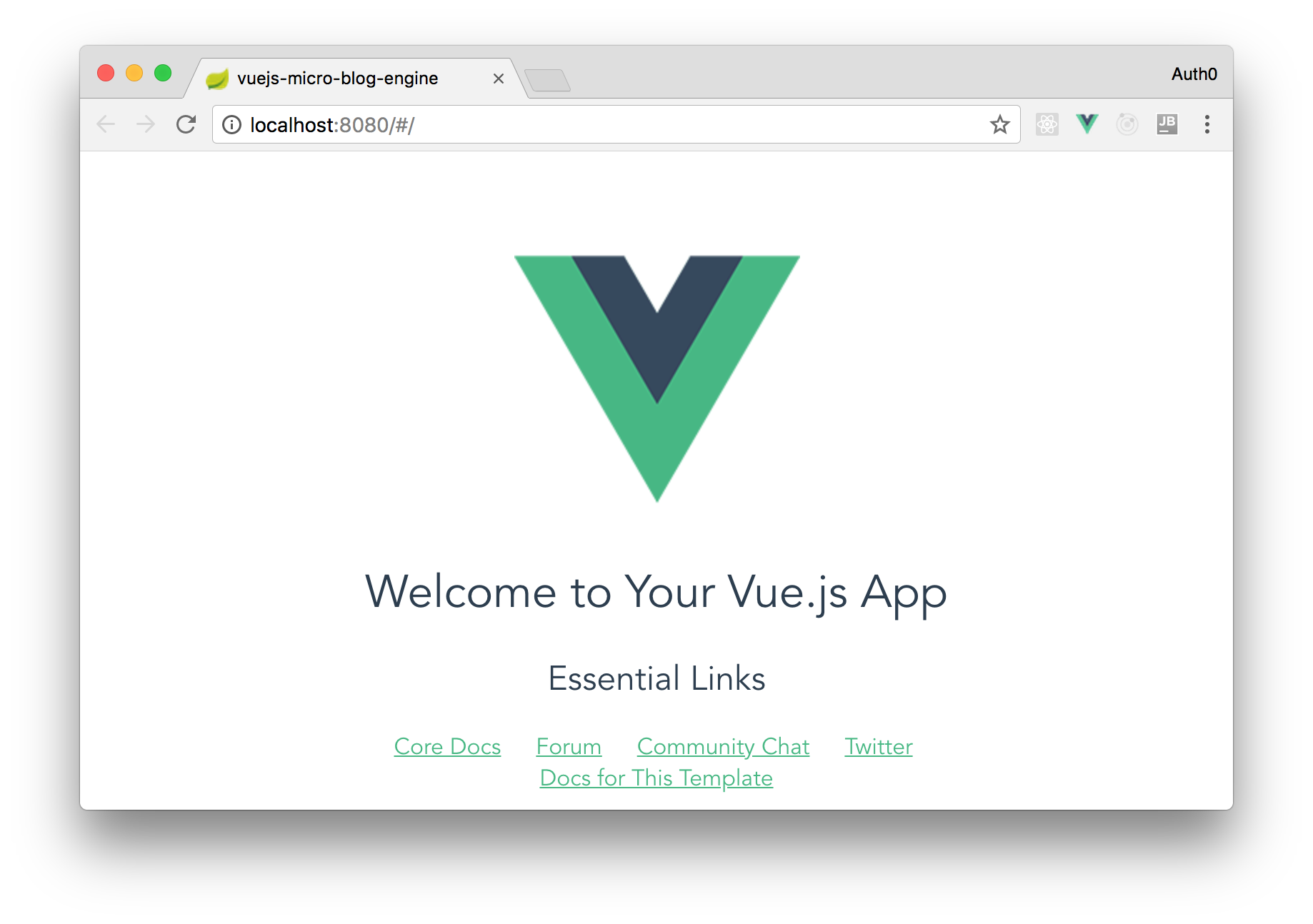 Vue.js up and running.