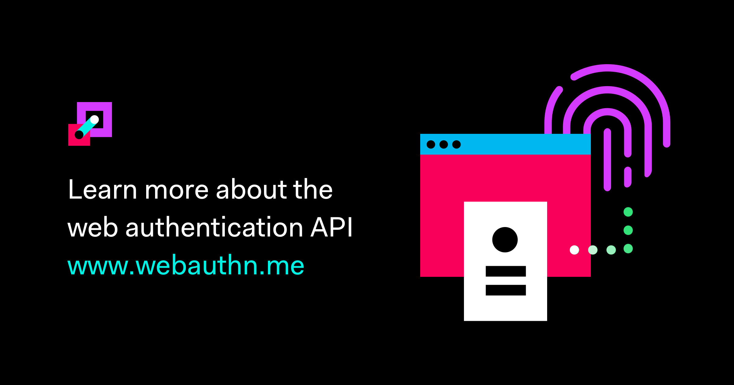 Web Authentication (WebAuthn) Credential and Login Demo