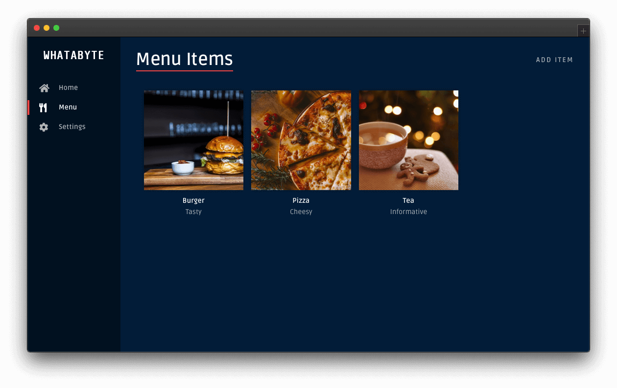 WHATBYTE Dashboard demo client