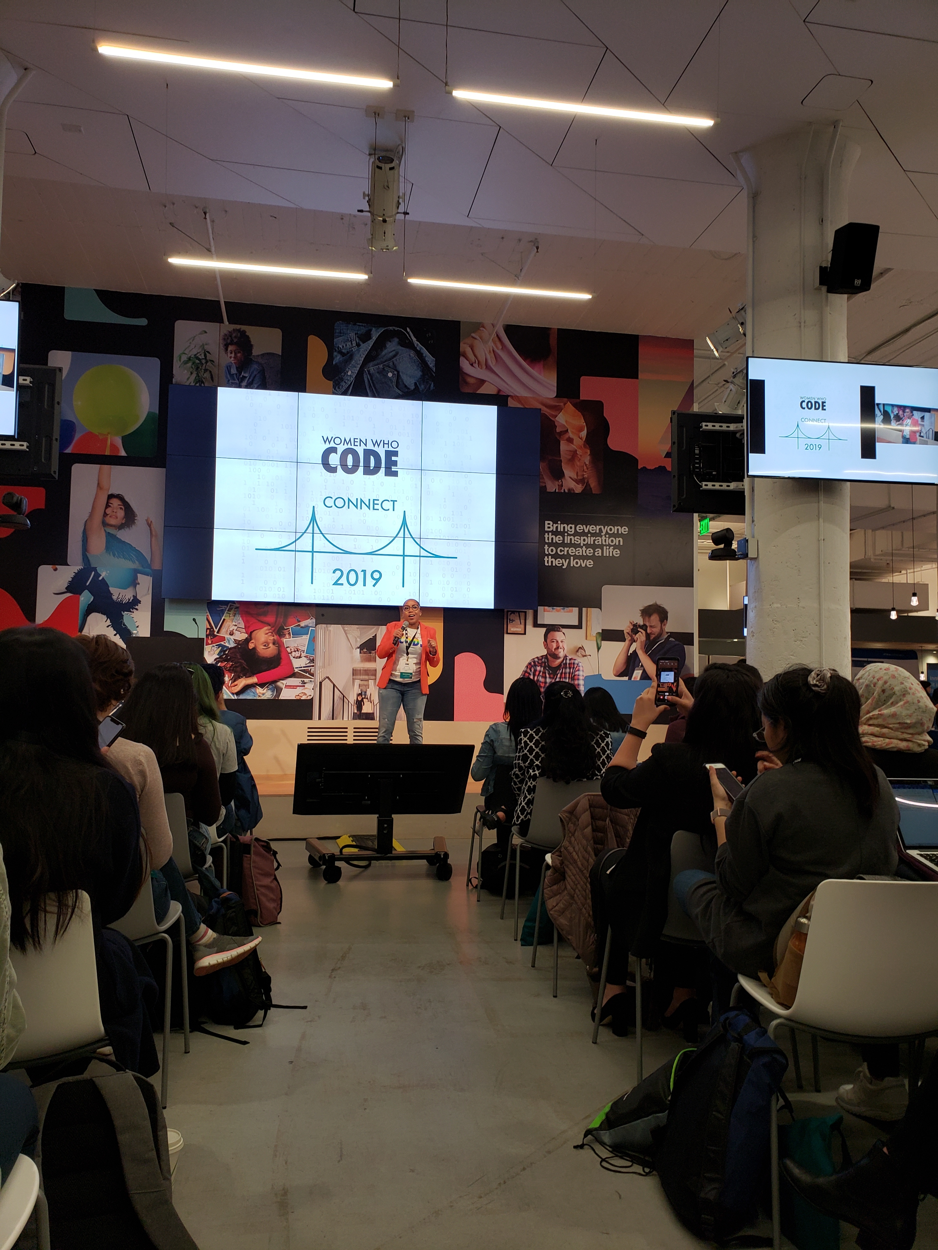 Welcome Talk at Women Who Code - CONNECT 2019