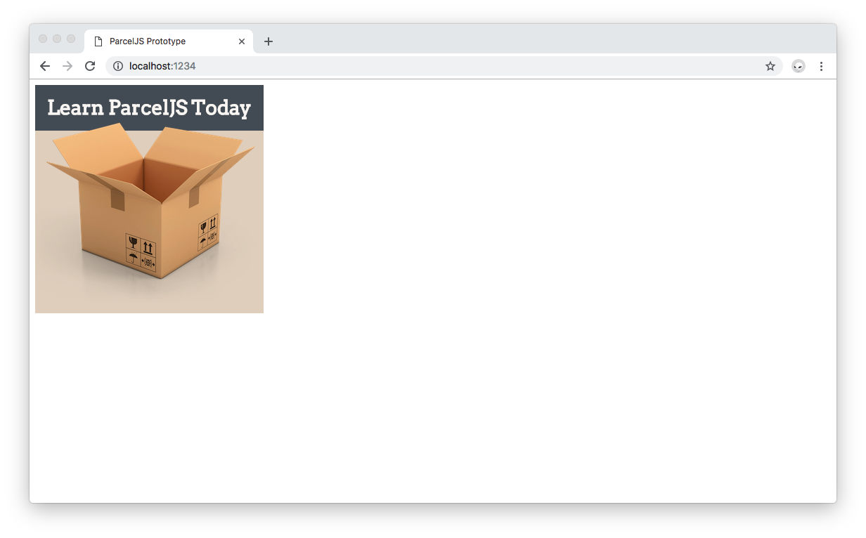 Polished version of the ParcelJS JavaScript app.
