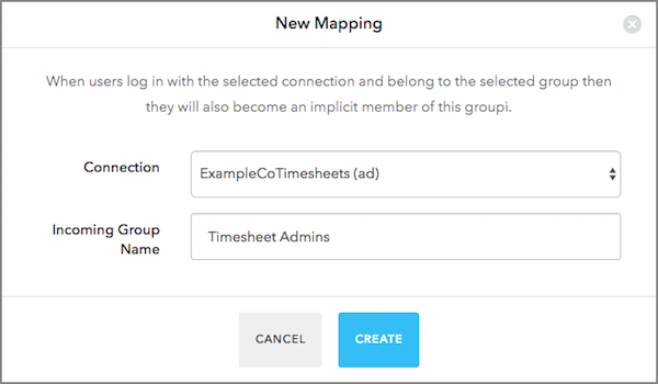 Add Admin Group Mapping
