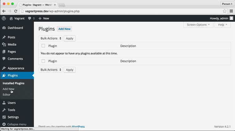 Where to Add New Plugins in WordPress