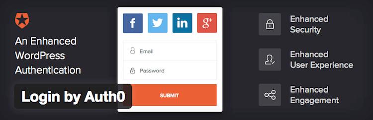 WordPress-Auth0 Plugin Banner
