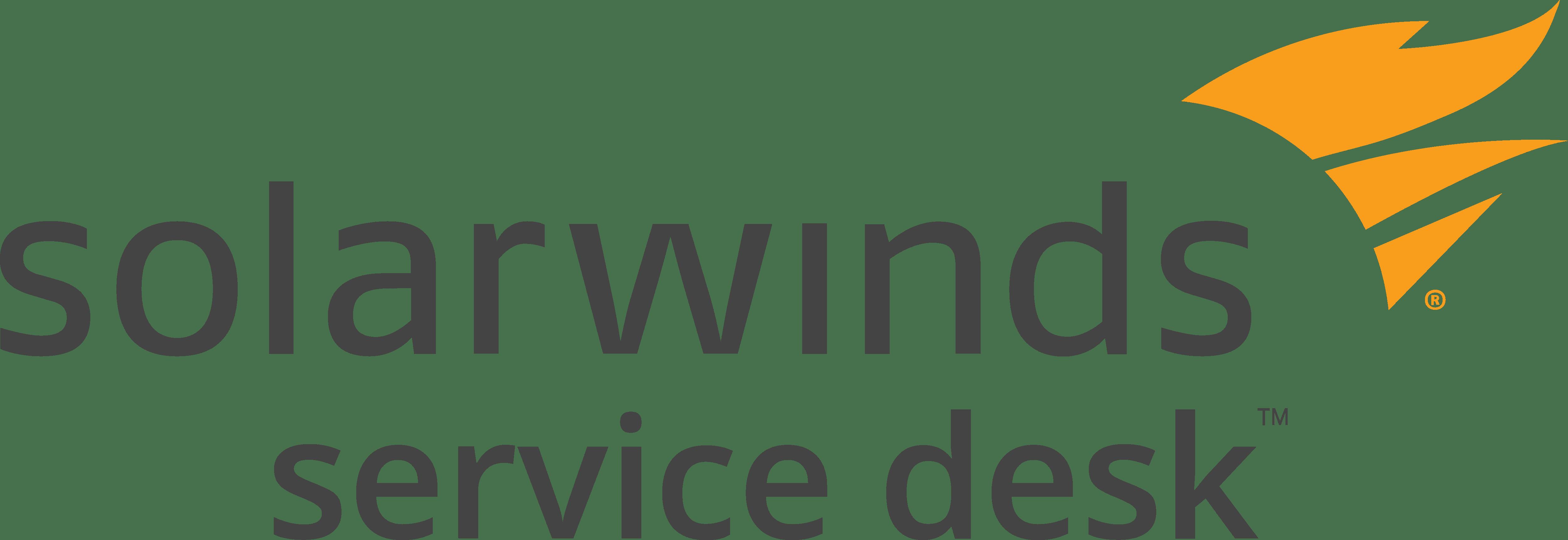 SolarWinds Service Desk logo