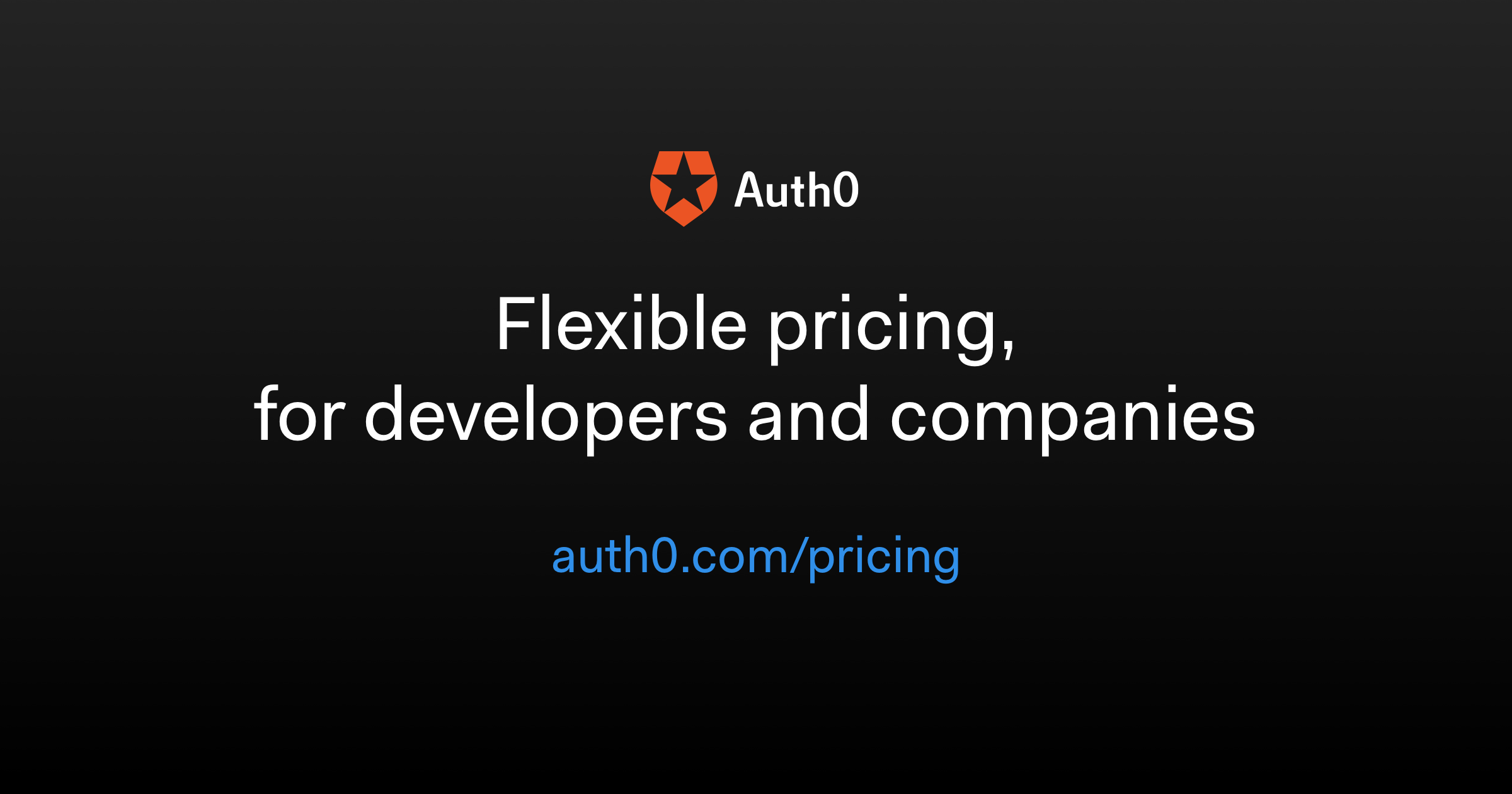 Pricing - Auth0