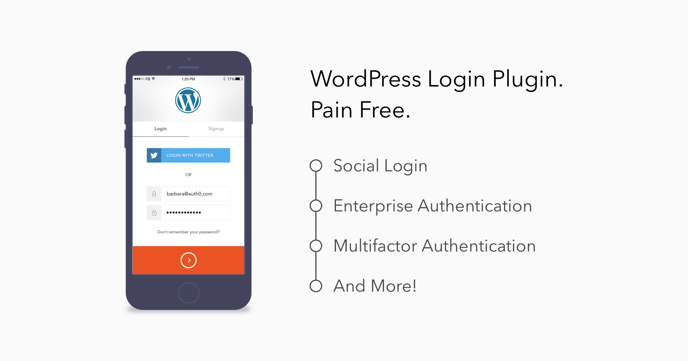 WordPress Authentication - Auth0