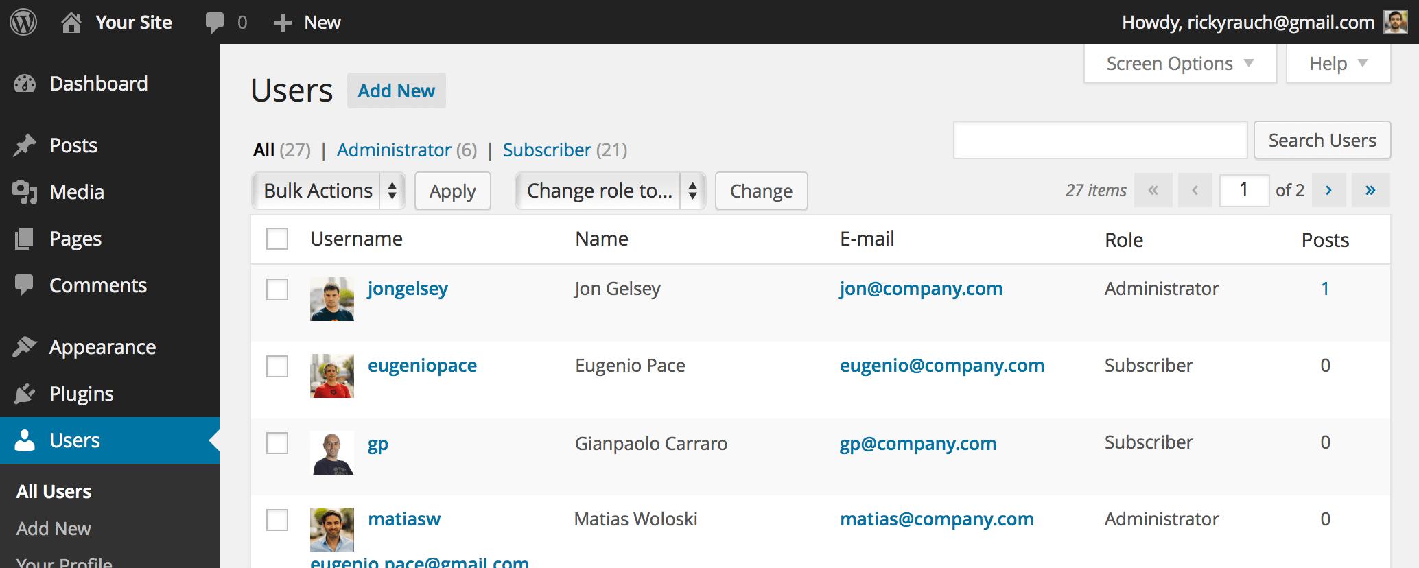 WordPress Login Plugin - Pain Free