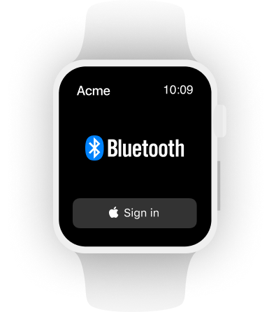 Watch example: bluetooth
